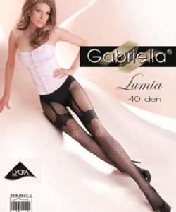 Gabriella fekete combfix hatású harisnya Lumia