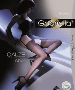 Gabriella fekete combfix  Calze cher