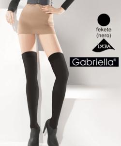 Gabriella fekete combzokni