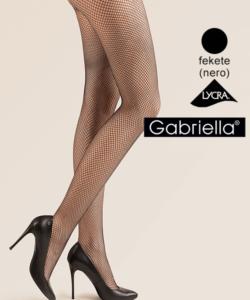 Gabriella fekete necc harisnya Kabarette 151