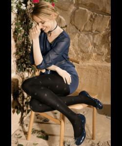 Gatta mintás microfibra harisnyanadrág 50d Loretta