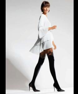 Knittex fekete combfix mintás női harisnya nadrág 50d Elusive