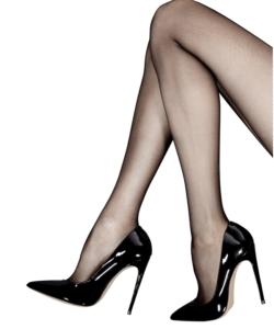 Knittex fekete mikronecc mintás női harisnya nadrág 20d Roxana