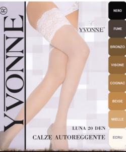 Yvonne fehér combfix 20d Luna