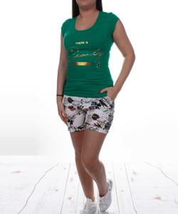 Zöld beauty női felső