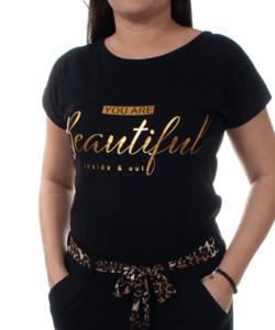 Gyönyörű fekete női felső