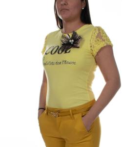 Masnis sárga női felső