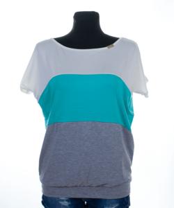 Victoria moda nyers-zöld-szürke felső