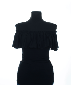 Victoria moda fekete felső