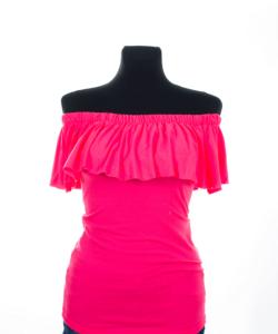 Victoria moda neonpink felső