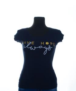 Have hope s.kék női felső