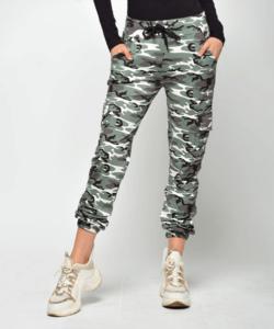 Victoria moda melegítő nadrág zöld terep