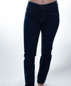 Kék női farmer nadrág plus size