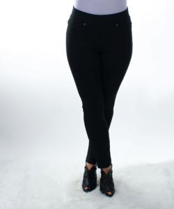 Fekete álzsebes női nadrág