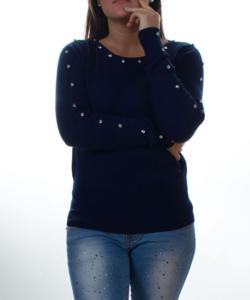 Bordó csavart nyakú női kötött pulóver - Női pulóver 5cdaeb0909