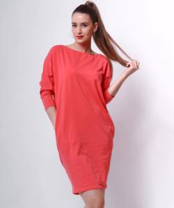 Victoria moda piros laza női ruha