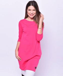 Victoria moda pink oldalzsebes miniruha