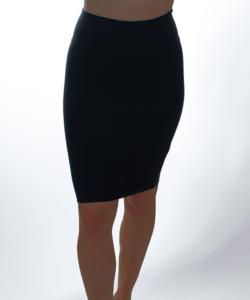 Kikiriki fekete női ceruza szoknya
