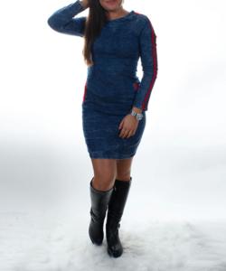 Farmer hosszú ujjú sztreccs női  ruha