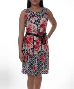 Virág mintás nyári női ruha