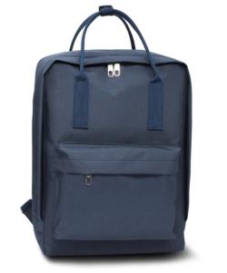 Anna Grace sötétkék iskola táska, hátizsák 38 cm