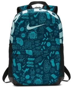 Nike hátizsák zöld mintás Brasilia BA6068-304