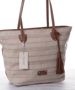 David Jones bézs shopper  női táska