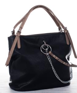 Fekete láncos olasz női táska