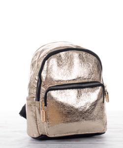 Arany  közepes divat női hátizsák