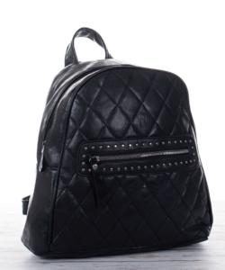 Fekete  divat női hátizsák