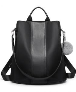 Miss Lulu fekete hátizsák