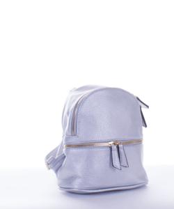 Ezüst divatos női hátizsák