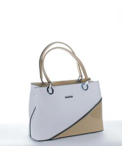 Silvia rosa fehér női táska