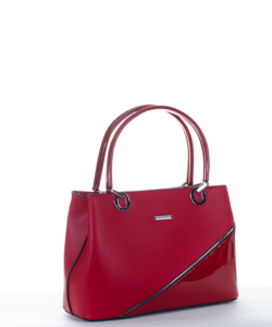 Silvia rosa piros női táska