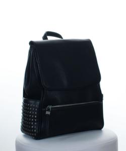 Silvia rosa fekete divatos női hátizsák