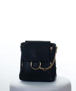 Fekete női divatos hátizsák