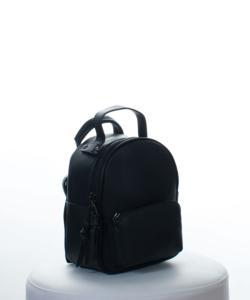 Fekete mini divatos női hátizsák