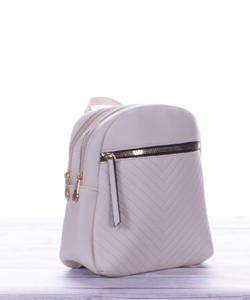 Cuki bézs mini női hátizsák