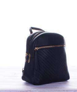 Fekete cuki mini női hátizsák