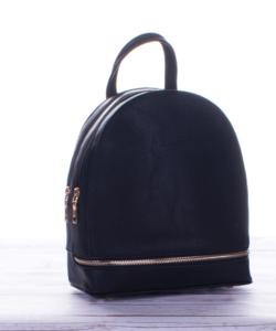 Elegáns női fekete divat hátizsák