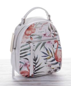 David Jones hátizsák flamingós fehér