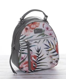 David Jones hátizsák flamingós szürke