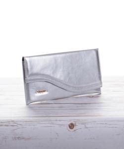 Prestige alkalmi táska ezüst színben