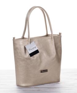 Prestige táska - váll és kézitáska arany színben