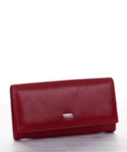 Piros műbőr női pénztárca Alessandro