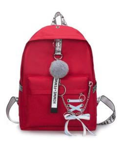 Piros női divat hátizsák vászon