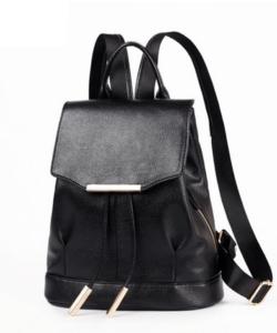 Fekete női divat hátizsák