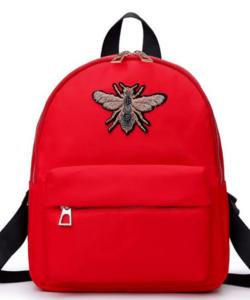 Piros női divat hátizsák
