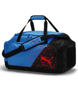 Puma utazótáska kék-fekete Liga