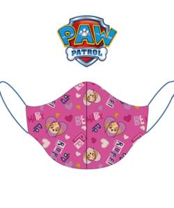 Textil szájmaszk kicsi gyerek rózsa Paw Patrol